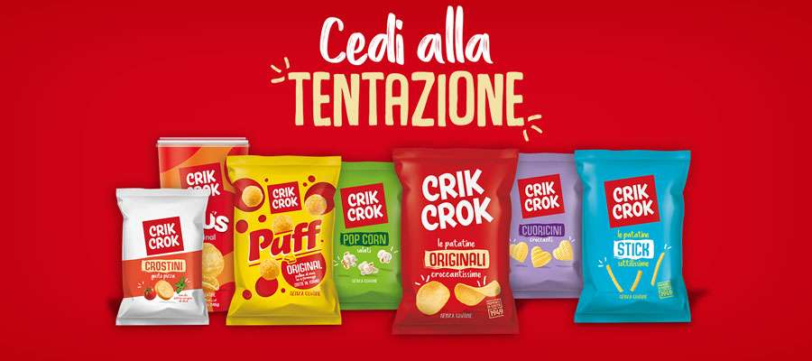 Crik Crok - Patatine e snack