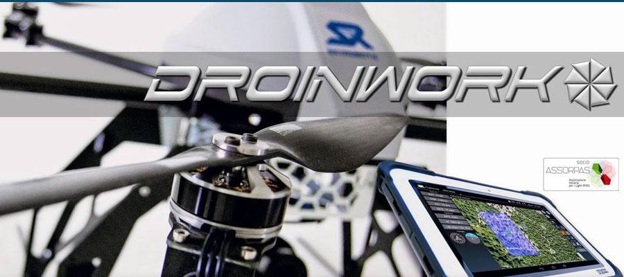 Droinwork - Servizi di lavoro aereo con droni
