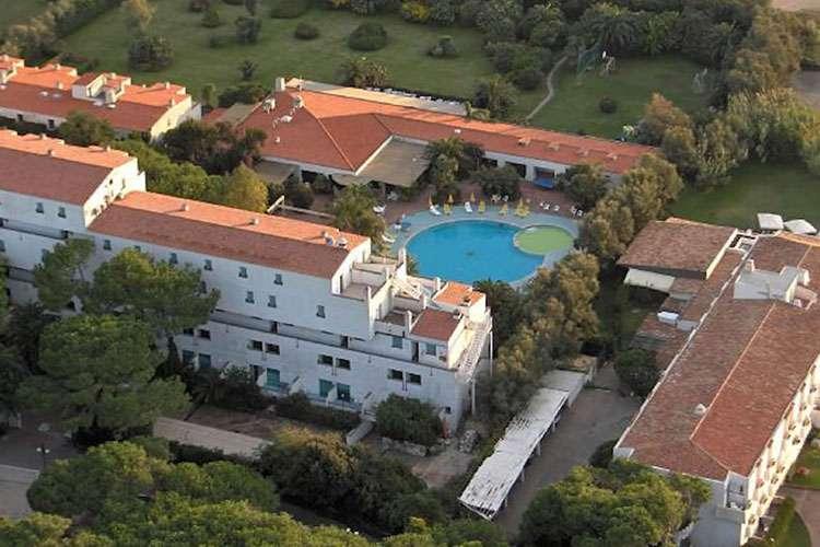 Hotel Marina Club - Veduta aerea