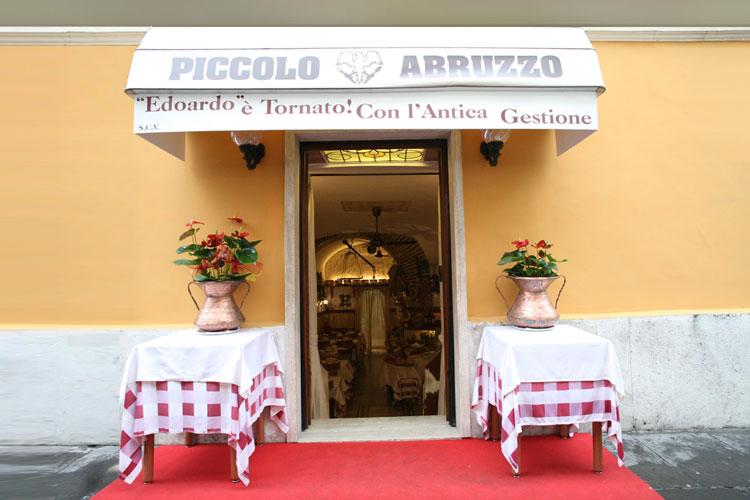 Piccolo Abruzzo - Ingresso