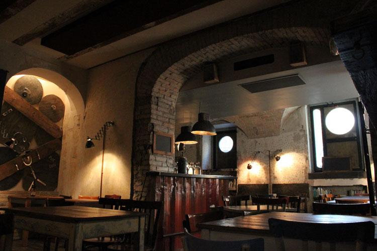 Porto - Fish & Chips - Sala interna