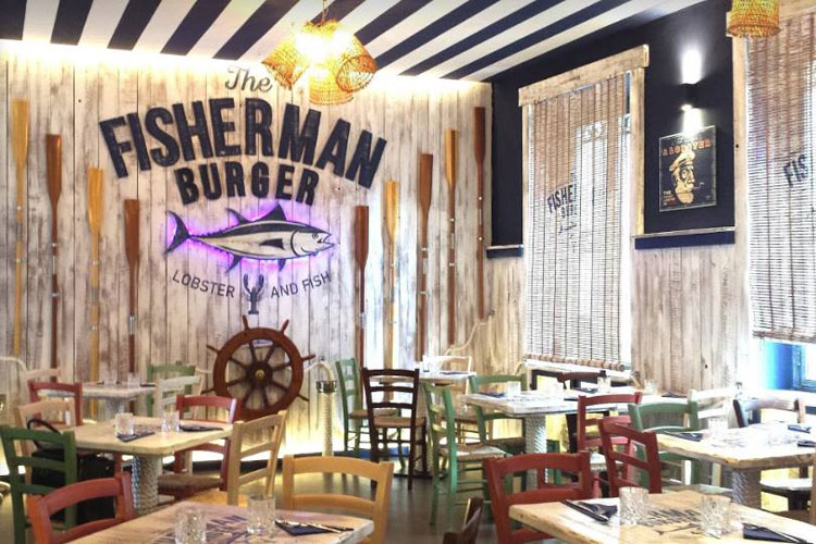 The Fisherman Burger