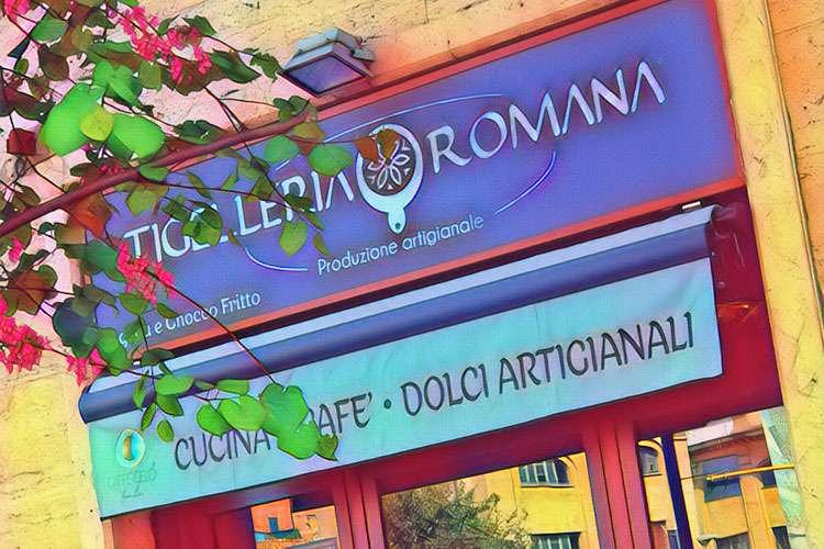 Tigelleria Romana - Bistrot & Cafè - Esterno